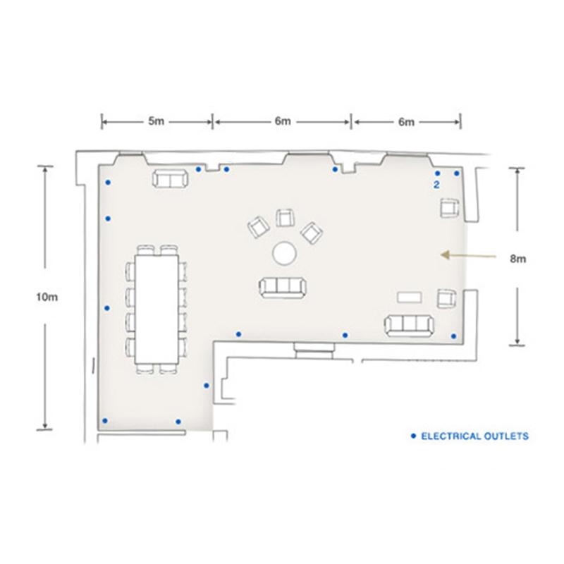 Sala degli Archi prospetto